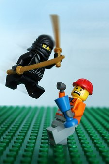 Lego Ninjas are awesome
